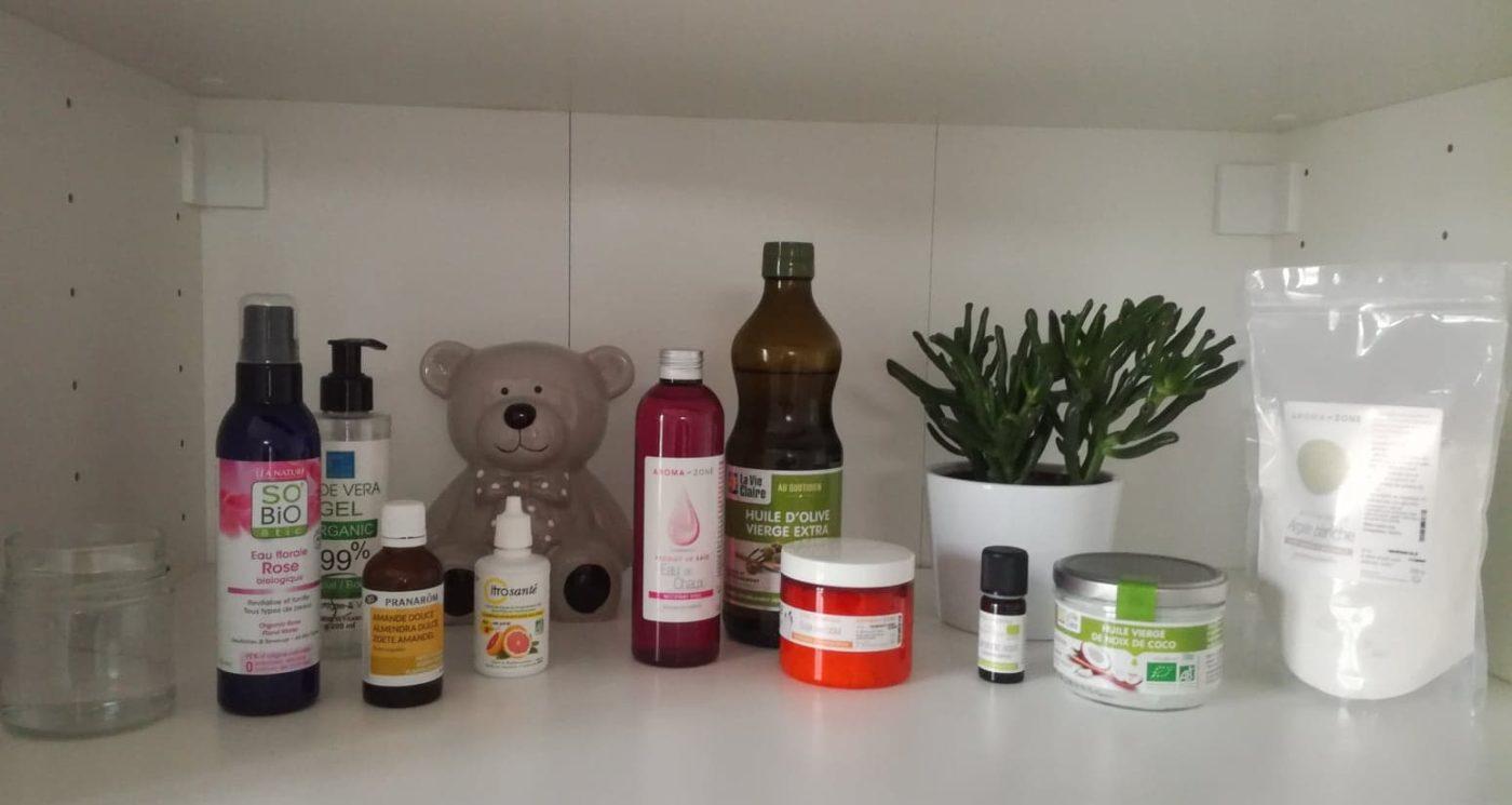 Produits naturels et bio pour prendre soin de la peau